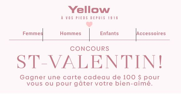 Yellow-saint-valentin