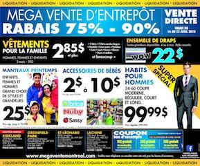 Mega Vente Montréal